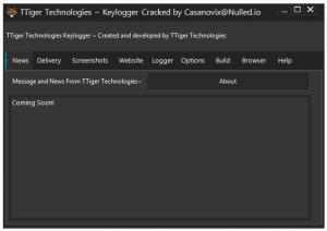 Ttiger keylogger [smtp/ftp] || keystroke/screenshot/clipboard logger
