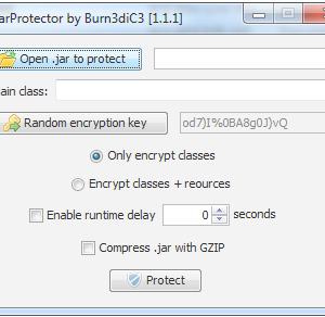 JarProtector 1.1.1 (Java Crypter)