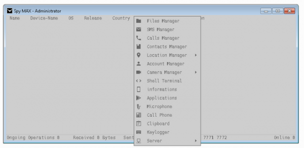 Spy max v2.0 - Android rat 2.0