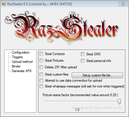 RazStealer 0.5 Android
