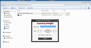 Botnet Athena Builder Panel v1.0.8