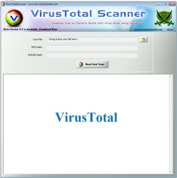 Virus Total Scanner