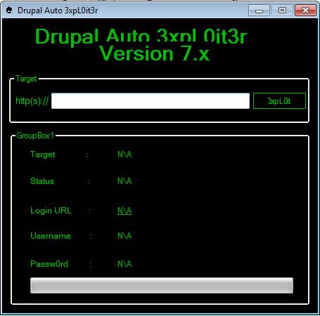Drupal Auto 3xpl0iter