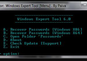 Windows Expert Tool 6.0