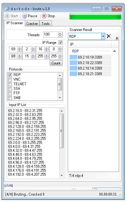 DK Brute 1.9   Keygen (Scanner & Cracker)
