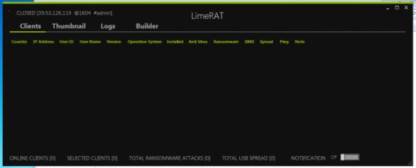 LimeRAT v0.1.8.4B