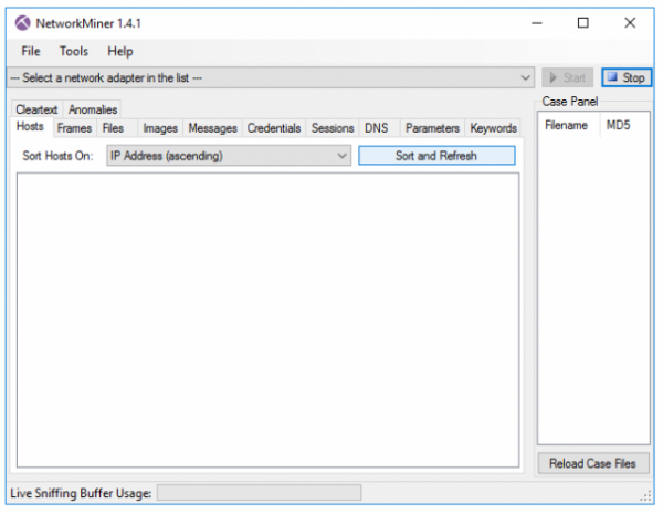 NetworkMiner 1.4.1