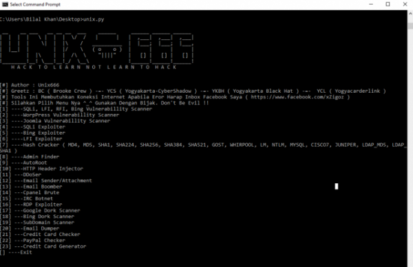 Unix666 Toolkit v1.1