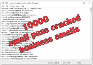 10000 business email pass   leaked