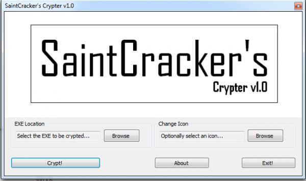 SaintCrackers Crypter v1.0