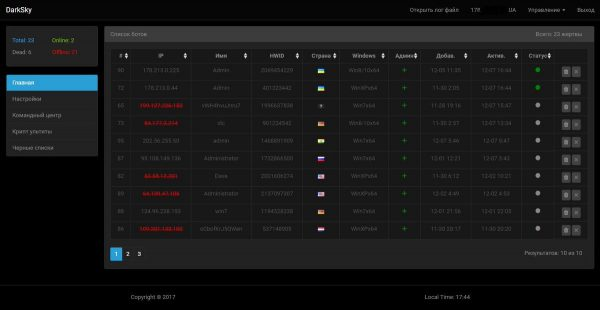DarkSky DDoS Loader Bot