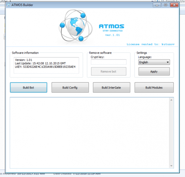 Atmos Banking trojan   [Re-uploaded]