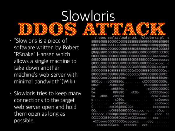 how to crash website server via slowloris ddos attack perl based script