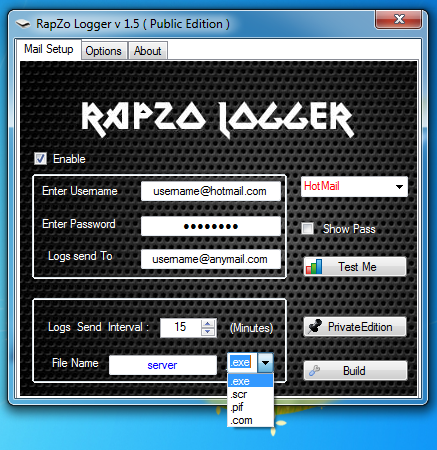 RapZo Logger v 1.5 ( Public Edition )