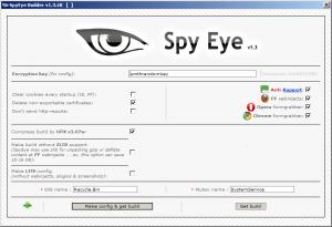 SpyEye Botnet  All modules   Collector   Panel   Bc